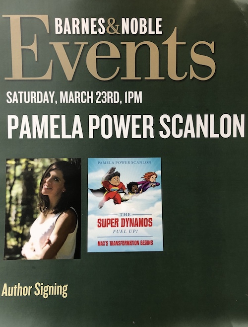 Pamle Power Scanlon Book Signing Barns and Noble PA
